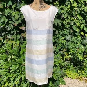 ANTHROPOLOGIE ODILLE Silk Shift, 2/Small